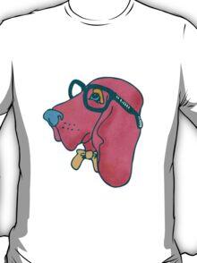 Rufus The Intelligent Hound Dog T-Shirt