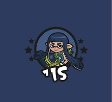 Video Game Heroes - Inkling: Blue Team (2015) by Jarmez