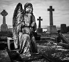 Rest in peace broken angel by davidprentice