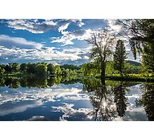 Mirrored Beauty Photographic Print