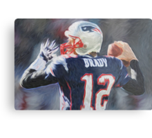 Tom Brady - NFL - Patriots Metal Print