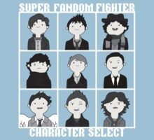 Super Fandom Fighter!  Kids Clothes