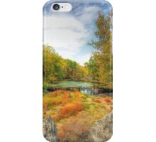Autumn At The Creek - Green Lane - Pennsylvania - USA iPhone Case/Skin