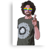 NinjaSexParty: The T-Shirt Canvas Print
