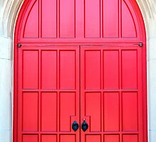 Bright Red Doors by Cynthia48