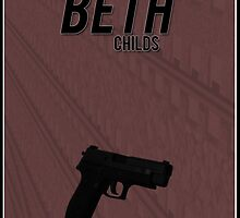 Orphan Black minimalist - Beth Childs by hannahnicole420