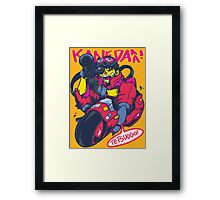 KANEDAAA! Framed Print