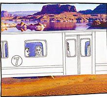 Desert Train by Tara Margolis