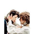 "Outlander - Jamie x Claire ""I am sorry mo gràdh"" by D. Abdel."