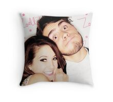 Zalfie Photobooth Picture Throw Pillow
