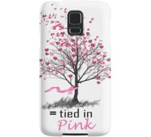 Tied in Pink: A Romance Anthology supporting Breast Cancer Research Samsung Galaxy Case/Skin