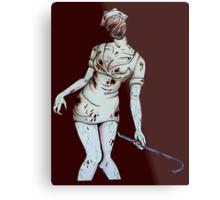 Silent Hill Nurse Metal Print