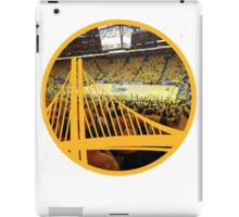 Golden State Warriors Oracle Arena Color iPad Case/Skin