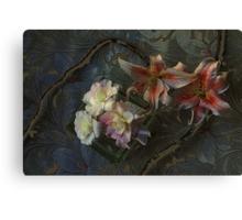 The Begonia Brocade Canvas Print