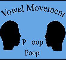 Vowel Movement by Kipper Doodles