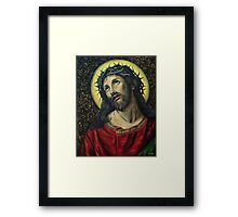 Suffering Christ Framed Print