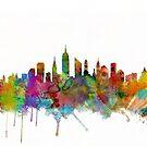 New York City Skyline by Michael Tompsett