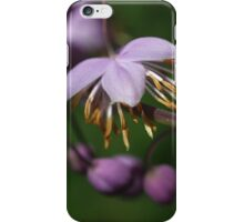 Purple Dancer 1 iPhone Case/Skin