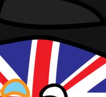 Polandball - Great Britain Big Sticker