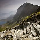 Snowdonia - Snowdon Summit by Angie Latham
