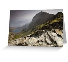 Snowdonia - Snowdon Summit Greeting Card