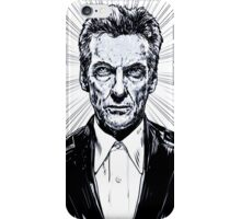 The Twelfth Doctor : Peter Capaldi is Doctor Who iPhone Case/Skin