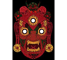 Red Demon for Shirt Photographic Print