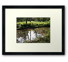 Nature's First Green is Gold Framed Print