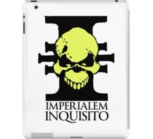 Imperialem Inquisito - Imperial Inquisition: Warhammer 40k (Light) iPad Case/Skin