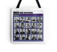 A Wibbly-Wobbly Timey-Wimey Day's Night Tote Bag