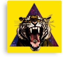 Tiger Triangle Canvas Print