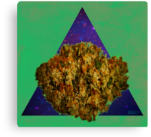 Kush Triangle Canvas Print
