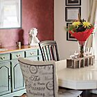 Dining Room with a French Flair by Yannik Hay