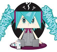 Skqwerkle vs Hatsune Miku by Skqwerkle