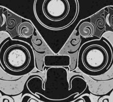 Black Demon Shirt Sticker