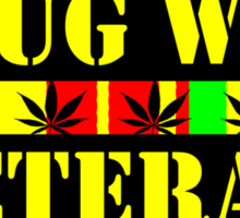 drug war veteran Sticker