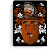 New World Coat of Arms Canvas Print
