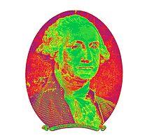 Portrait of George Washington by KWJphotoart