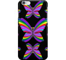 Butterfly Psychedelic Rainbow iPhone Case/Skin
