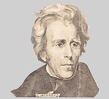 Portrait of Andrew Jackson by KWJphotoart