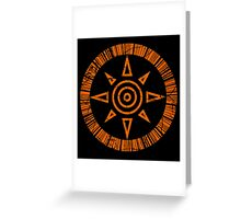 Crest of Courage Greeting Card