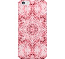 """Spirit of India: Fleur-SnowFlake"" in rose iPhone Case/Skin"