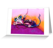 Kitty and the Bow Greeting Card