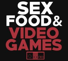 Sex, Food & Video Games - Nintendo by JiimboSL1C3