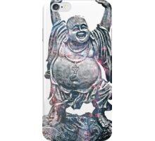 Happy Buddha | Whirlpool Galaxy [V3] iPhone Case/Skin