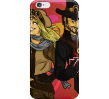 Steampunk adventures iPhone Case/Skin