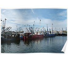Fishing Boats, New Bedford, MA Poster