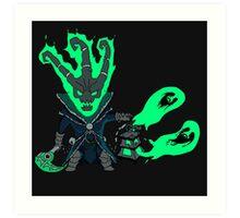Thresh - League of Legends Art Print