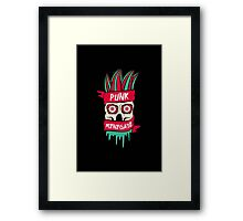 Punk Renegade Framed Print