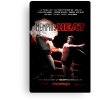 Memphis Heat Movie Poster Canvas Print